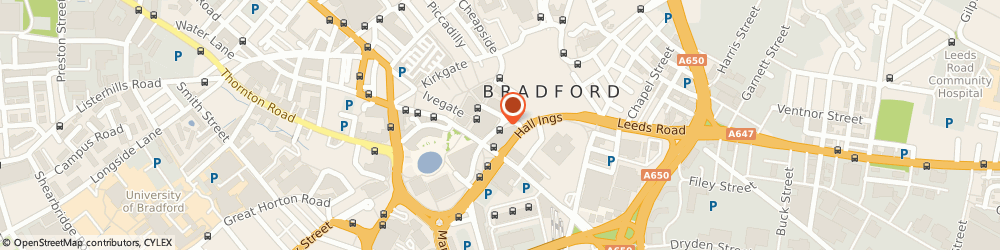 Route/map/directions to Greggs, BD1 1HA Bradford, 29 Broadway