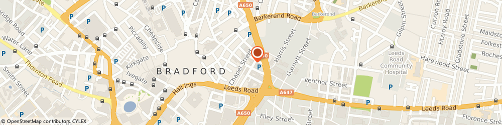 Route/map/directions to Eddisons Chartered Surveyors Bradford, BD1 5EP Bradford, Caspian House, 61 East Parade