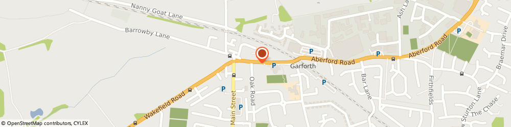 Route/map/directions to Hungry Horse Pub Lord Gascoigne, LS25 1PX Garforth, 6 Aberford Road