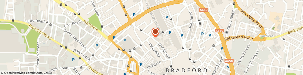 Route/map/directions to Future Renovations UK, BD1 4QU Bradford, 23 Manor Row
