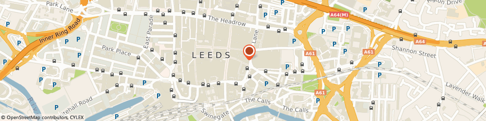 Route/map/directions to The Co-Operative Travel Leeds, LS1 6BY Leeds, 119 KIRKGATE