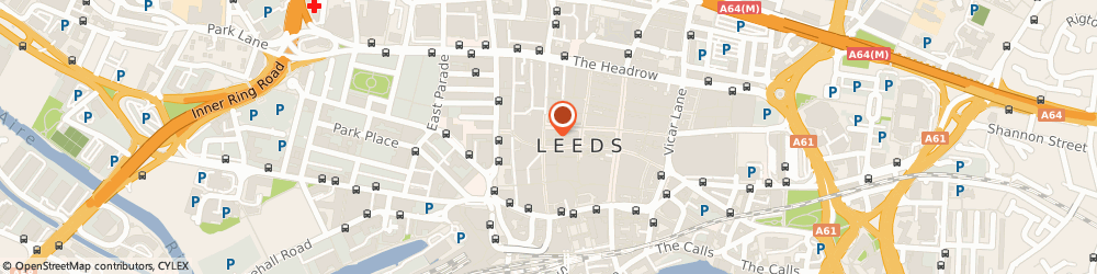 Route/map/directions to Oliver Bonas, LS1 6AD Leeds, 50 Albion Street