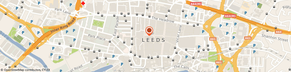 Route/map/directions to Sainsbury's Local, LS1 6AD Leeds, 50 - 54 Albion Street
