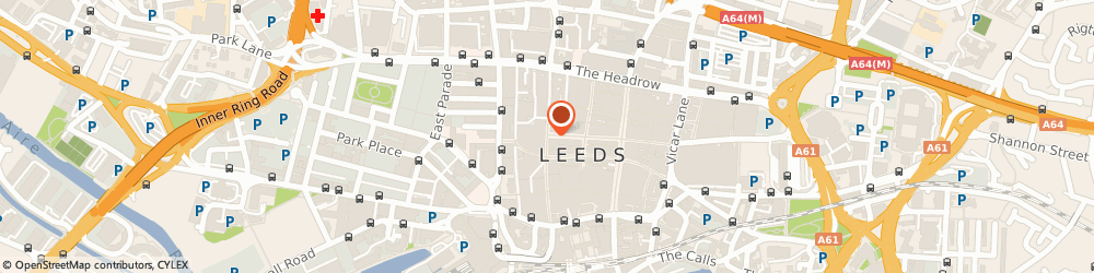 Route/map/directions to Greggs, LS1 5AA Leeds, 71 Albion Street