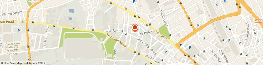 Route/map/directions to Richy Rewards, BD8 8JY Bradford, Oakwood Court City Road