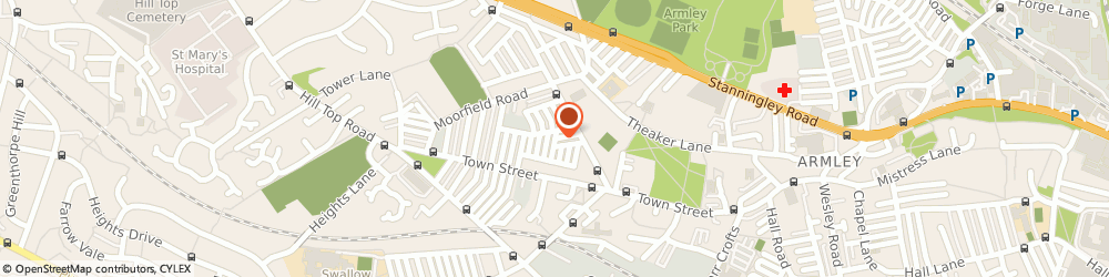 Route/map/directions to Tinzu, LS12 3JS Leeds, 4 Paisley Rd
