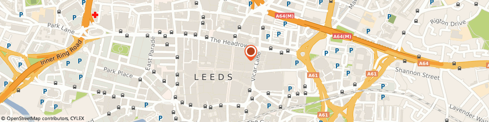 Route/map/directions to Liz Earle, LS1 6BE Leeds, 38-40, Queen Victoria St