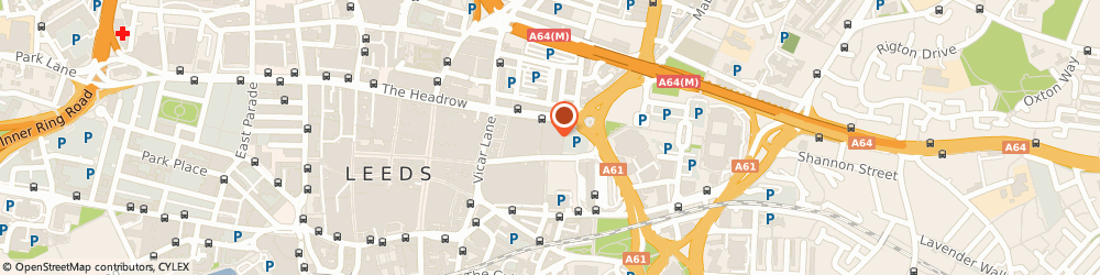 Route/map/directions to CHANEL JOHN LEWIS, LS2 7JL Leeds, Victoria Gate