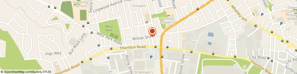 Route/map/directions to Red Carpet Events, BD8 9NL Bradford, Unit 26, Girlington Road