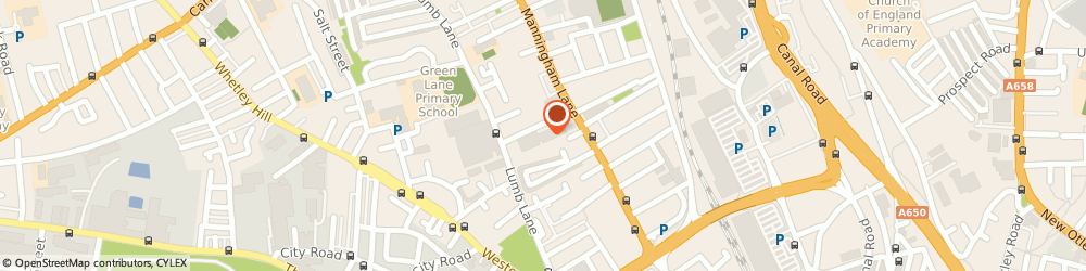 Route/map/directions to Cartech uk, BD1 3BW Bradford, Unit 2 Bowland Street Industrial Estate