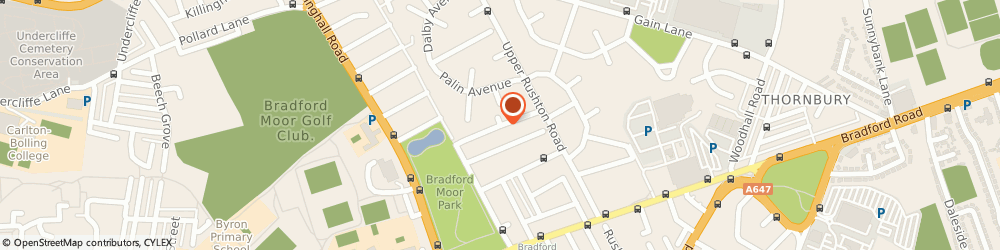 Route/map/directions to Platinum Limo Hire, BD3 7LF Bradford, 350 Silverhill Dr