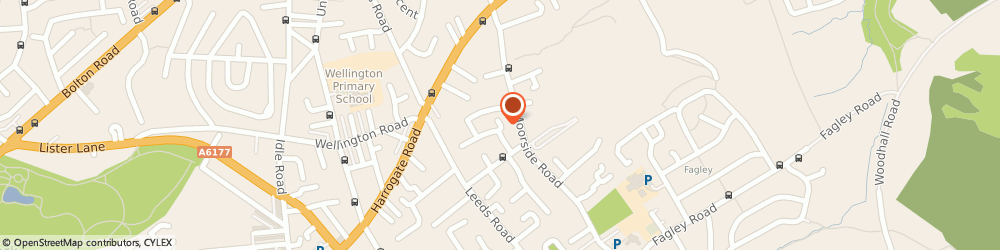 Route/map/directions to HEAT-CALL RENEWABLES LIMITED, BD2 3JY Bradford, 40 Peveril Mount