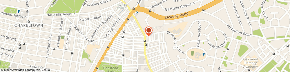 Route/map/directions to AIRDANCER.CO.UK, LS8 3QE Leeds, 171 HAREHILLS LANE