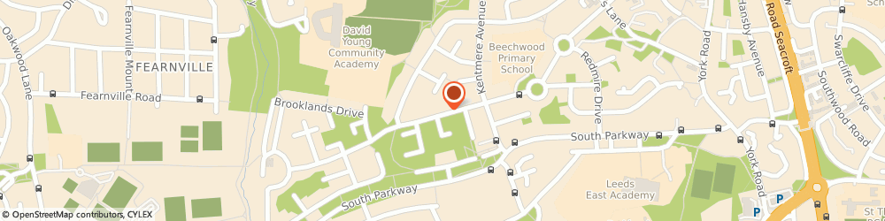 Route/map/directions to S & R Stoves, LS14 6RU Leeds, 65 Brooklands Avenue