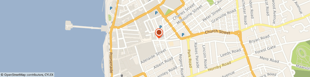 Route/map/directions to Creative Gifts Uk, FY1 1JA Blackpool, 114-116 Church St