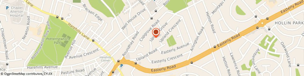 Route/map/directions to T.v Eye, LS8 2SX Leeds, 24 UPLAND GROVE
