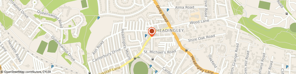 Route/map/directions to Sainsbury's Local, LS6 3HU Leeds, 40 North Lane