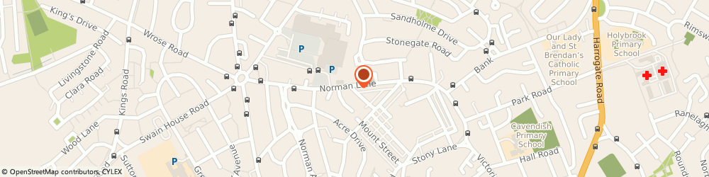 Route/map/directions to Premier - Quencher, BD2 2LB Bradford, 59 Norman Lane, Eccleshill