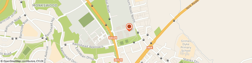 Route/map/directions to Screwfix - Leeds - Seacroft, LS14 2AQ Leeds, Coal Road, Leeds Outer Ring Road