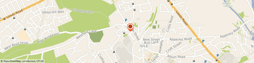 Route/map/directions to Idle Medical Centre, BD10 8RU Idle, 440 Highfield Rd