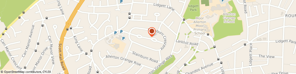 Route/map/directions to Global Services & Marketing Limited, LS17 6NX Leeds, 6 STAINBURN DRIVE
