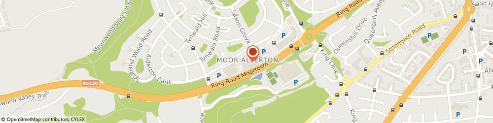 Route/map/directions to Sainsbury's, LS17 5NY Leeds, 9-11 Moor Allerton Centre