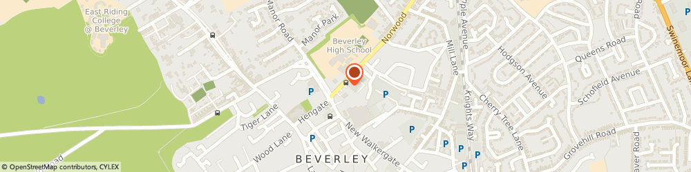 Route/map/directions to Majestic, HU17 9EY Beverley, 16 Norwood