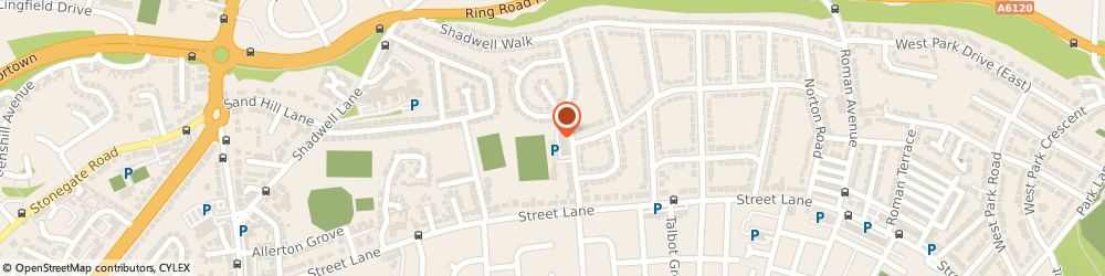Route/map/directions to GLOSS, LS8 2AT Leeds, 29 Chelwood Drive