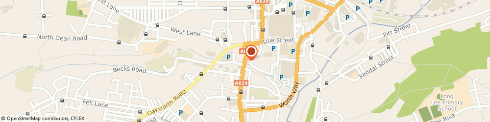 Route/map/directions to The Albert Hotel, BD21 1AA Keighley, 10 Bridge St