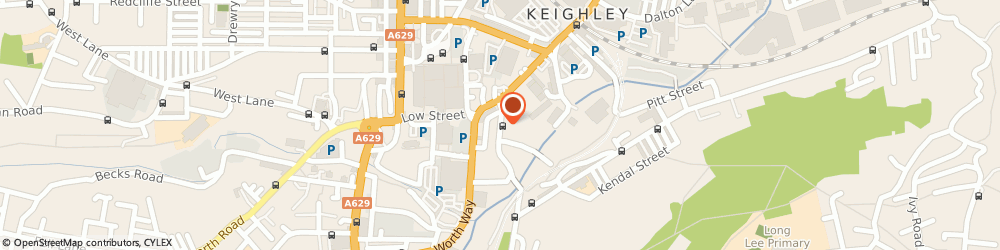 Route/map/directions to The Cricketers Arms, BD21 5JE Keighley, 23 Coney Ln