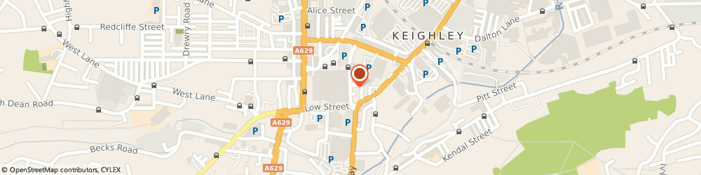 Route/map/directions to Gardeners Arms, BD21 3QJ Keighley, 14 Hanover Street