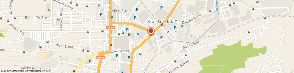 Route/map/directions to The Boltmakers Arms, BD21 5HX Keighley, 117 East Parade