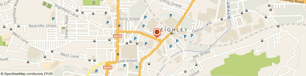 Route/map/directions to Sue Ryder Social Care Keighley, BD21 3RB Keighley, 59 Cavendish Street