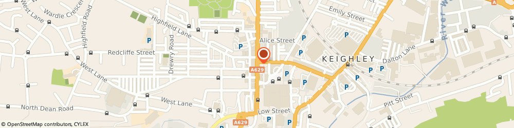 Route/map/directions to The Star Hotel, BD21 3SL Keighley, NORTH STREET