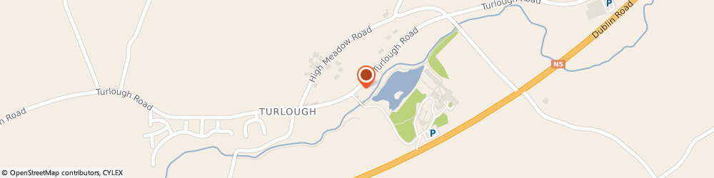 Route/map/directions to Brenda Grealis - Wedding and Church Singer / Harpist, F23 V653 Mayo, Turlough