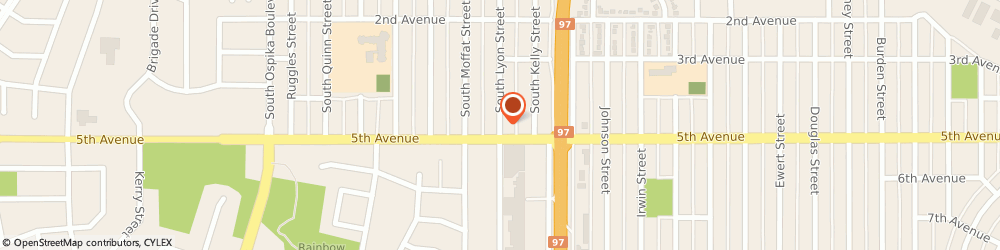 Route/map/directions to Canadian Hi-Performance, V2N 1T2 Prince George, 1504 Lyon St S