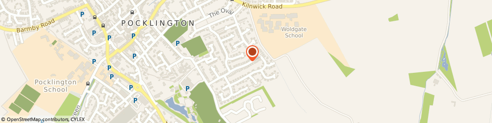 Route/map/directions to YORK STONEMASONS LIMITED, YO42 2QG Pocklington, 31 Wold Road