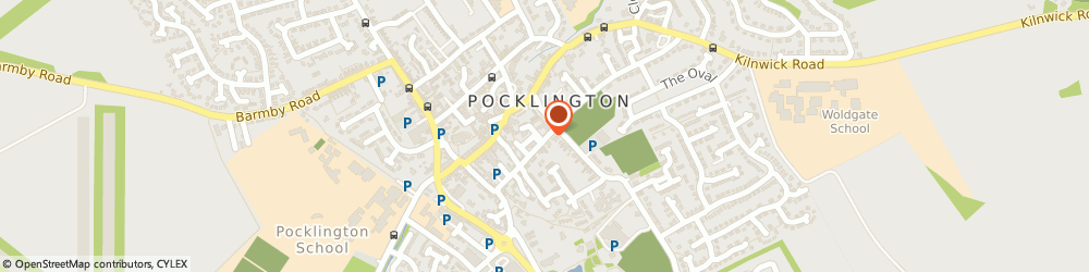 Route/map/directions to A Better Mortgage Service, YO42 2AH Pocklington, 52 MARKET PLACE
