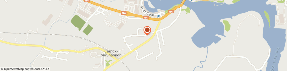 Route/map/directions to Jones Oil Carrick on Shannon,  Carrick-On-Shannon, Cortober Road