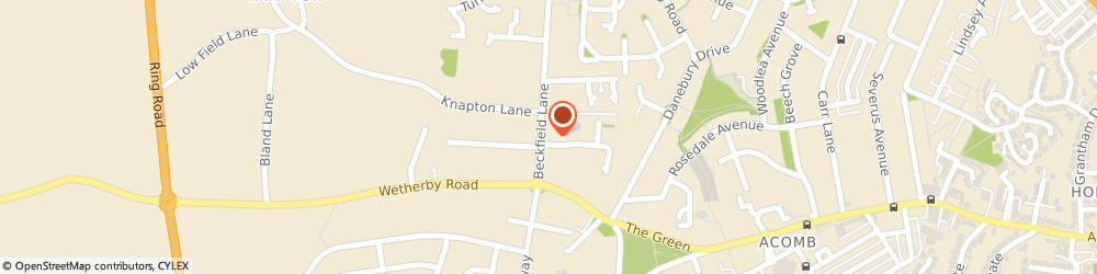 Route/map/directions to Sainsbury's Local, YO26 5PN York, 17 Beckfield Lane