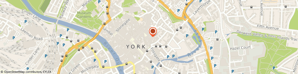 Route/map/directions to Barnitts Modern Living, YO1 8BW York, 24-26 Colliergate