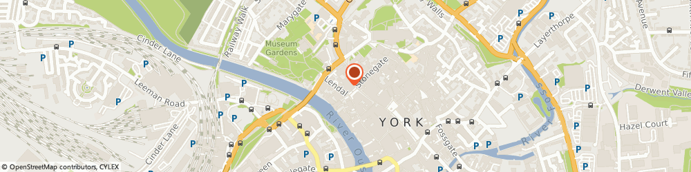 Route/map/directions to Judges Lodging at York, YO1 8AQ York, 9 Lendal