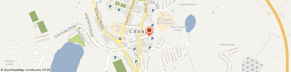 Route/map/directions to Slowey s T.V. & Electrical, H12 Cavan, MAIN ST