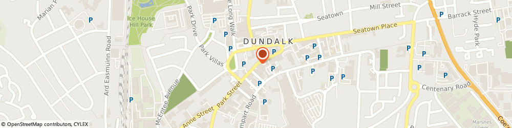 Route/map/directions to KeVIN MccaRDLe,  Dundalk, 1 PARK ST
