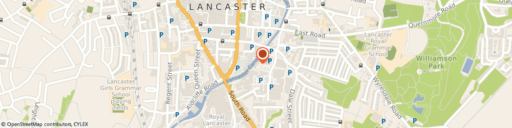 Route/map/directions to Allied Healthcare, LA1 4XQ Lancaster, White Cross Industrial Estate, South Road