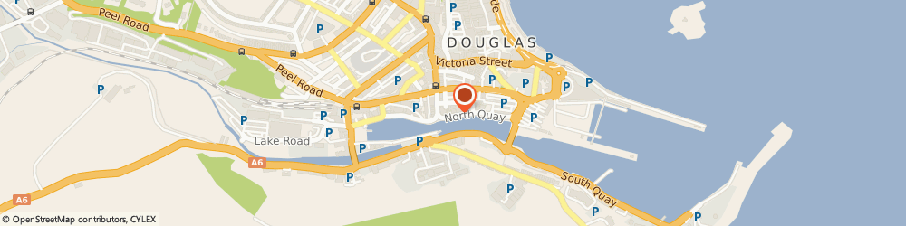 Route/map/directions to British Hotel, IM1 4LB Douglas, NORTH QUAY