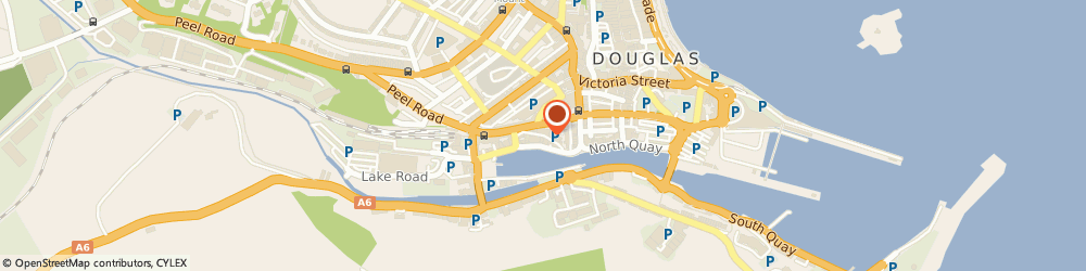 Route/map/directions to Saddle Inn, IM1 1LQ Douglas, 2 QUEEN STREET