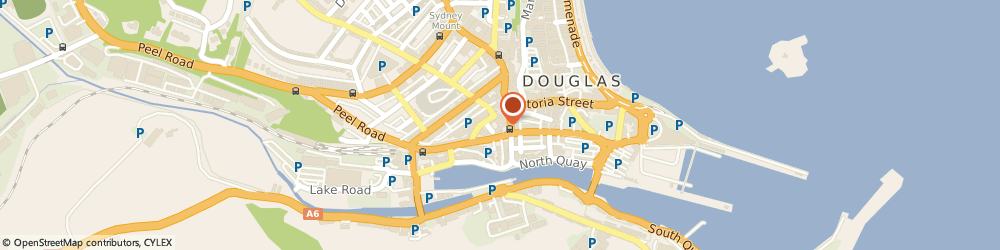 Route/map/directions to Rovers Return, IM1 2AG Douglas, 11 CHURCH STREET