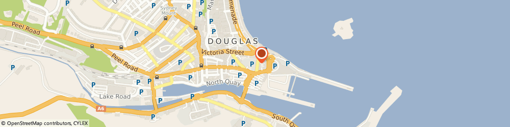 Route/map/directions to What The Fork Cafe, IM1 2LT Douglas, 15-17 Walpole Avenue