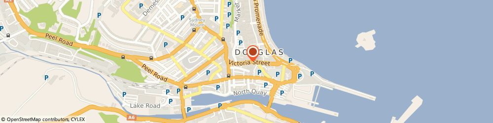 Route/map/directions to Barclays wealth, IM1 2LE Douglas, Victoria Street